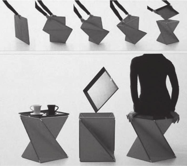 基于用户需求ξ的瓦楞纸板家具设计研究